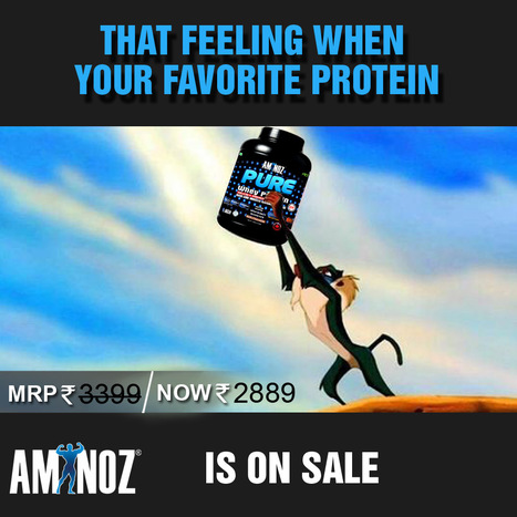 Best deal on Whey protein | Aminoz Health and Sports Supplements | Scoop.it