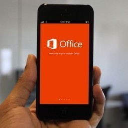Microsoft Previews A Touch-Optimized Version Of Office—For Windows, This Time | MarketingHits | Scoop.it