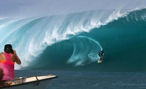 Tahiti: le gratin du surf mondial à l'assaut des 8 m de Teahupoo | TAHITI Le Mag | Scoop.it