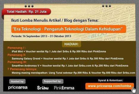 Ikuti Lomba Menulis Total Hadiah Rp. 21 Juta - PriceArea.com | Ngoprek Kamera Nikon 5200 Lengkap | Scoop.it