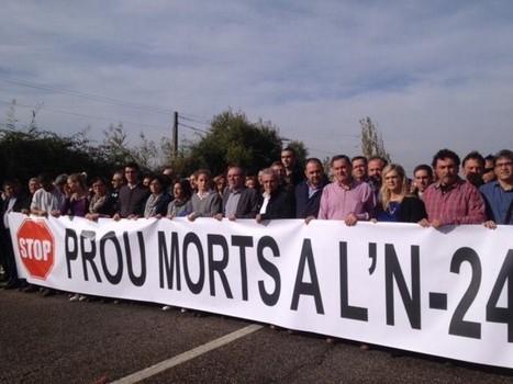 La plataforma «Prou morts a la N-240» talla la via per reclamar solucions a la sinistralitat | #territori | Scoop.it