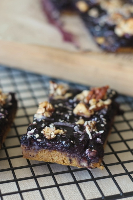 PaleOMG – Paleo Recipes – Blueberry Pumpkin Muffin Breakfast Bars | Nutrition | Scoop.it