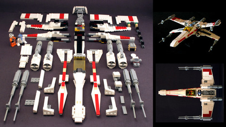 How To Build the Best Lego X-Wing Ever | Technologies numériques & Education | Scoop.it