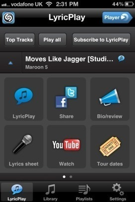 Shazam Player For iPhone Released To Rival Apple's iOS Music App   Redmond Pie   Mobile & Technology   Scoop.it