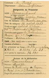 Roger Bouanchaud, prisonnier de guerre rezéen en Autriche - [Archives municipales de Rezé] | AJPN Seconde Guerre mondiale en France | Scoop.it
