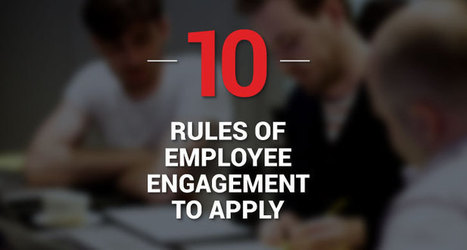 10 Employee Engagement Ideas Managers can apply | legal industry | Scoop.it