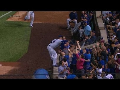 DailyRotoHelp Blog :: [Video] Cubs' Anthony Rizzo makes play of the year? What about Play of the Decade? | dailyfantasysports | Scoop.it
