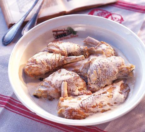 A la découverte du Bocage Bressan et de son fameux poulet à la crème | MILLESIMES 62 : blog de Sandrine et Stéphane SAVORGNAN | Scoop.it