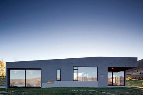 A Modern New Zealand Home Anchored to the Landscape | estrellas | Scoop.it