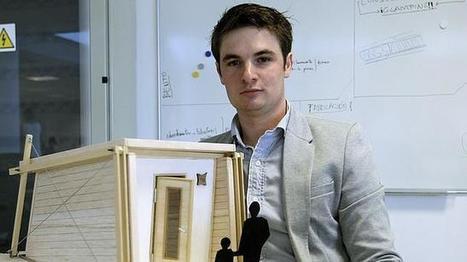 Diseñan un sistema para construir casas de madera en cinco horas y sin ayuda   economia finanzas y empresas   Scoop.it