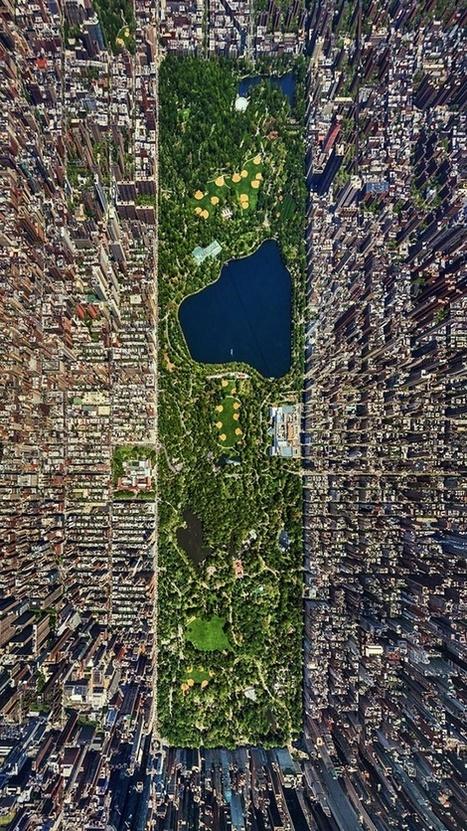 [NEW YORK] Une vue aérienne de CentralPark : à partager ! | Le BONHEUR comme indice d'épanouissement social et économique. | Scoop.it