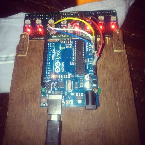 Insta-Arduino   Time for a line following bot using Infrared Array...   Raspberry Pi   Scoop.it