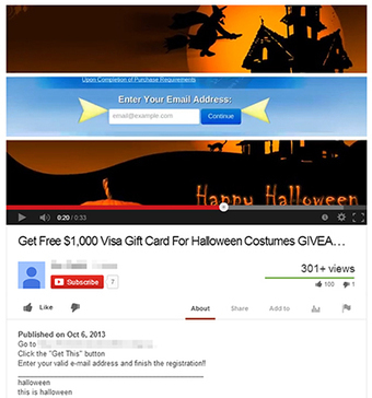 Halloween scams hit Facebook, Twitter, and YouTube | SecTechno | Social Networks Security | Scoop.it
