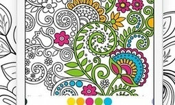 Adult colouring books? Inevitably, there's an app for that | Technology in Art And Education | Scoop.it