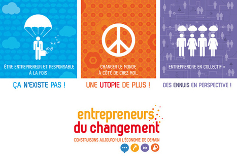 Une campagne de pub pour encourager la création d'entreprises d'économie sociale et solidaire | Sustainability - Living Eating Working Traveling | Scoop.it