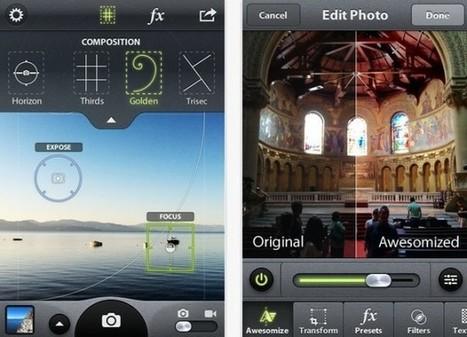 Camera Awesome, un toque profesional para tus fotografías [iOS] | Cosas que interesan...a cualquier edad. | Scoop.it