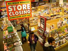 Borders va fermer 75 autres de ses librairies cette semaine | ACTU DES EBOOKS | Scoop.it