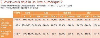 19,3% des français ont déjà lu un livre numérique | IDBOOX | Livre digital | Scoop.it