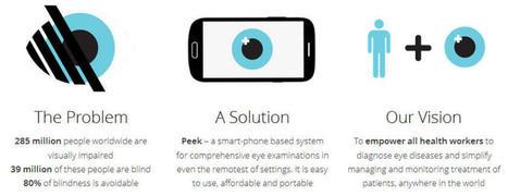 Una 'app' para diagnosticar enfermedades oculares desde el móvil | Noticias TIC SALUD | Scoop.it
