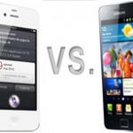iPhone 4S vs. Samsung Galaxy SII – Le comparatif Le Bon Forfait   Les Systèmes d'Exploitation (Operating System)   Scoop.it