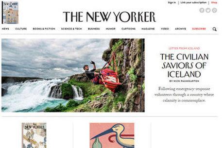 Le New Yorker se met au retargeting edito   Digital Marketing   Scoop.it