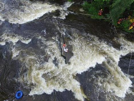 Crews Use Drone in River Rescue | ScubaObsessed | Scoop.it