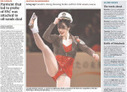 The Globe and Mail's front page causes astir | PR examples | Scoop.it