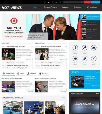 JM-Hot-News ● Joomla-Monster ● Joomla Templates Shop | rcaproducoes | Scoop.it