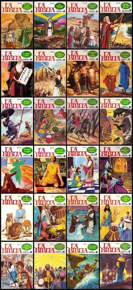biblia ilustrada a todo color Descargar Gratis | estudios biblicos | Scoop.it