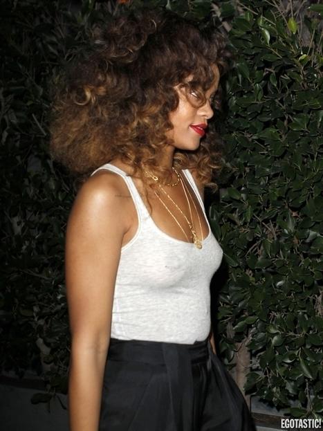 Transparence des seins sexy de Rihanna à Los Angeles ! | Radio Planète-Eléa | Scoop.it