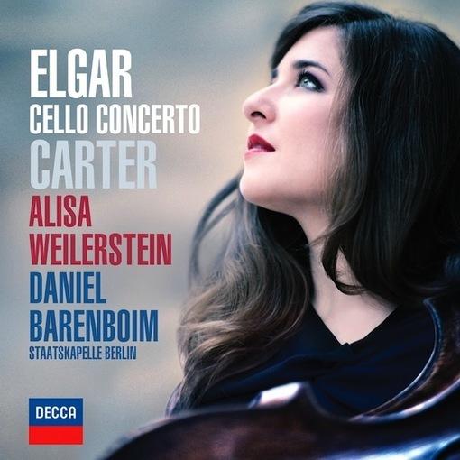 CD : Elgar, Carter -concertos pour violoncelle par Alisa Weilerstein