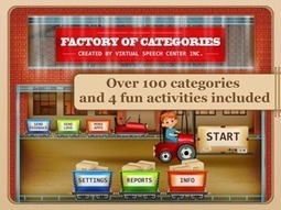 Factory of Categories App | Speech and Language Therapy Apps | Scoop.it