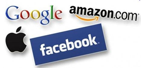 Google, Apple, Facebook, Amazon... Ce que pèsent les 4 seigneurs du Web   Marketing, Retail, Shopper,  Luxe,  Expérience Client, Smart Store, Future of Retail, Omnicanal, Communication, Digital   Scoop.it