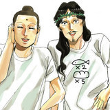 """Jesus and Buddha Cast for """"Saint Young Men"""" 