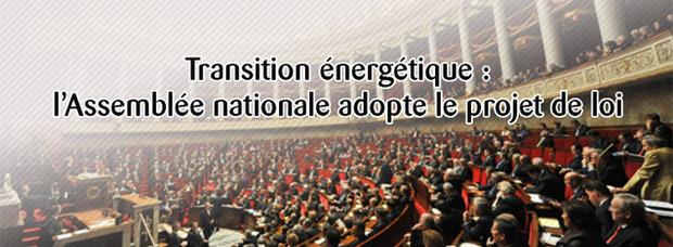 Transition énergétique : la loi définitivement adoptée par l'Assemblée nationale | La Revue de Technitoit | Scoop.it