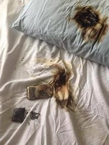 Girl's Galaxy S4 Smartphone Burns Under Her Pillow as She Sleeps | Electronics | Scoop.it