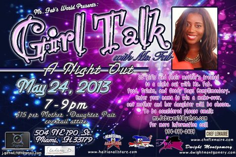 Girl Talk with Ms. Fab, A Night Out | HAY Online | Scoop.it