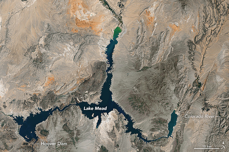 Visualizing the Highs and Lows of Lake Mead : Image of the Day | Mr Hill's Geography | Scoop.it