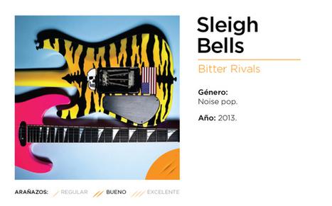 SLEIGH BELLS, BITTER RIVALS (2013)   Music Reviews   Scoop.it