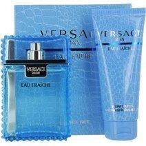 Versace Eau Fraiche Men Gift Set (Eau De Toilette Spray, Perfumed Bath and Shower Gel) | Perfume for Men | Scoop.it