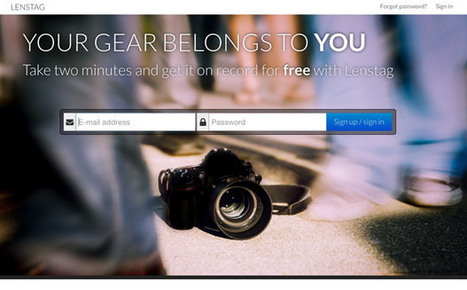 Lenstag: A Free Online Gear Registry that Aims to End Camera and Lens Theft | Photographic | Scoop.it