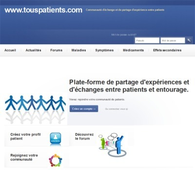 Tous patients : nouveau réseau socialpatient   Future Patient   Scoop.it