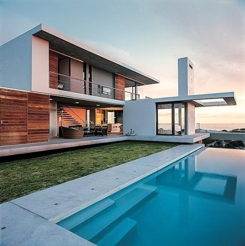 Jolie résidence secondaire contemporaine Vame by SAOTA – Pearl Bay – Afrique