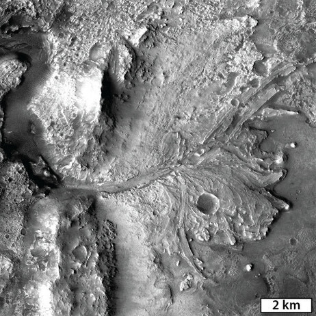 A Geologic History of an Ancient Martian Lake System in Jezero Crater | Geology | Scoop.it