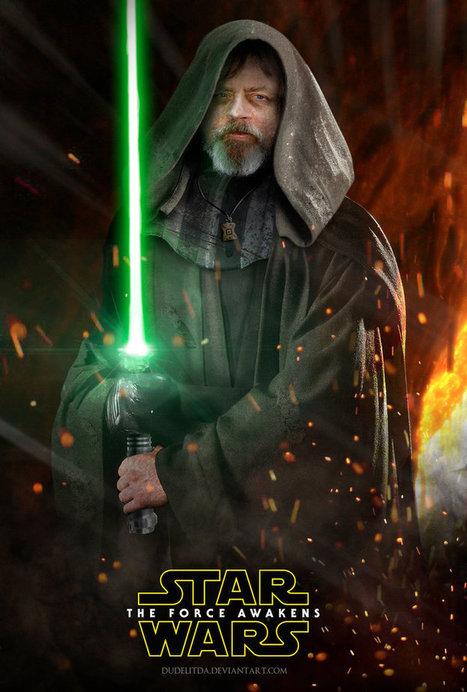 Where's Luke Skywalker on the new 'Force Awakens' Poster? | mymagedo | Scoop.it
