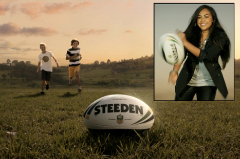 VIDEO: 2013 NRL ad campaign launched 'Rugby League's got a hold on me' | IMC | Scoop.it