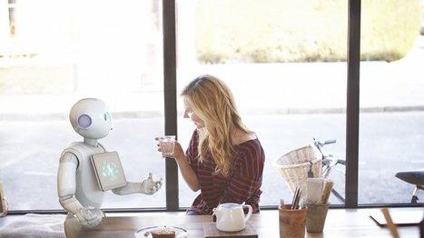 Pepper, le premier robot qui a du cœur | The Blog's Revue by OlivierSC | Scoop.it