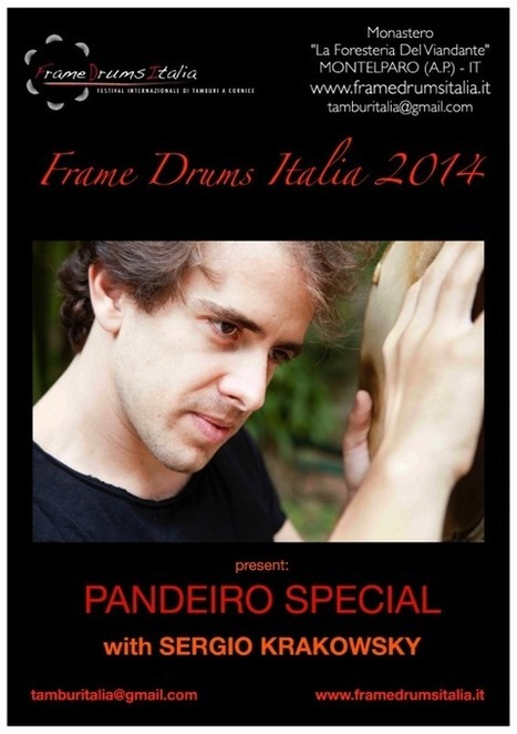 Montelparo Le Marche: International frame drums festival 2014   Le Marche another Italy   Scoop.it