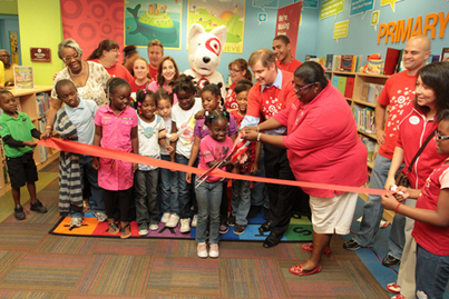 Target helps build strong readers while constructing school library ... | School libraries are your common core! | Scoop.it