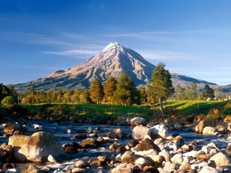 Mount Taranaki in New Zealand   The Best Places in the World to Travel   Scoop.it